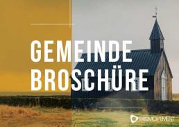 Gemeinde Broschüre